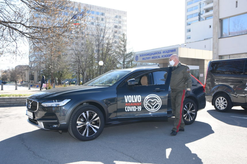 Our member, Volvo and Moto-Pfohe are joining forces in the fight against Covid-19